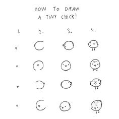 New drawingtutorial from me to you tiny chicks!!! #drawingtutorial by majasbok