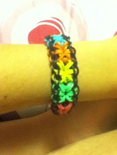 Rainbow Loom Starburst Bracelet Tutorial