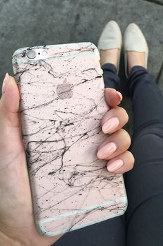 Marble Case for iPhone 6/6s & 6 Plus 6s Plus from Elemental Cases on a Rose…
