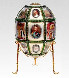 see 140 real Faberge eggs at the Vatican