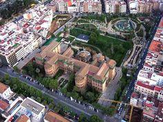 Rectorado Universidad y Jardines Juan Carlos I