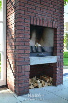 Outdoor Shelters, Barbacoa, Fireplace Design, Garden Inspiration, Backyard Landscaping, Landscape Design, Bbq, House, Conservatory