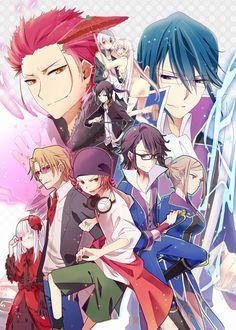 King of Colors FUKUOKA | K-Project #anime (by のぶ) http://www.pixiv.net/member_illust.php?mode=medium&illust_id=36852580