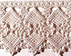 crochet edge - free pattern @Af's 14/4/13