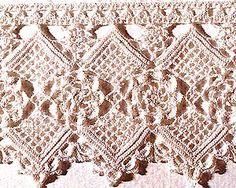crochet edge - free pattern