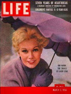 Actress Kim Novak,1956
