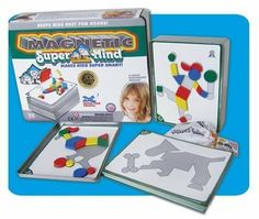 Magnetic SuperMind by Leisure Learning Products. $23.50. The award winning, highest rated, 5-STAR Activity Set is now magnetic! It provides hours of fascinating fun by challenging children to think for themselves. It developes childrens' skills in problem solving. Kids need time alone for developing independence, self-expression, and accomplishing tasks which are rewarding and build self-confidence. It shows school age children how to build and solve puzzles. Kids love combi...