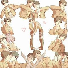 Levi and eren Attack on Titan ~Kay