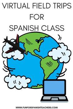 Virtual Field Trips in Elementary Spanish Class - FunForSpanishTeachers