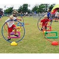 Obstacle Course - To encourage a child's creativity and leadership abilities.