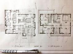 いいね!1,188件、コメント8件 ― 石川 元洋/一級建築士さん(@motohiro_ishikawa)のInstagramアカウント: 「・ Floor plan .…」