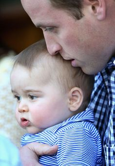 Prince George turns two! To celebrate, we'll gush over his cherubic cheeks.