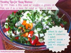 Healthy Tips for Busy Mamas: Tip #4