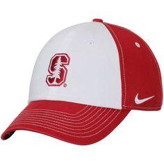 Stanford Cardinal Nike Women's Logo Adjustable Hat - White/Cardinal