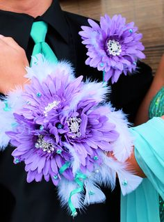Corsage  flowers for prom