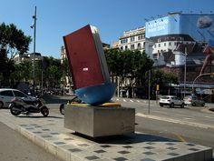 El libro * Homenatge al llibre | Book sculpture @ Barcelona, Spain