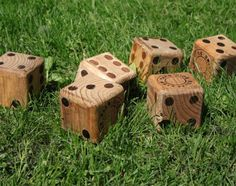 Yard Dice would be nice for some backyard gambling, Uh, I meant fun!  Guys would love this!