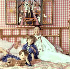 Anderson, Carter cooper and Gloria Vanderbilt