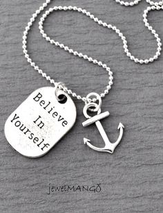 Believe in Yourself, Long Necklace