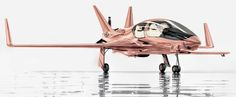 Cobalt Valkyrie-X private plane in rose gold. Neiman Marcus Edition. $ 1,500,000.00