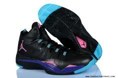 b4a06b656aa4 Jordan Super.Fly 2 Sz. 9.5 (599945 009) Black Pink