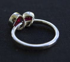kinetic ruby ring