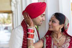 Indian wedding in San Jose, CA.  Anand Karaj at Gurdwara and Hindu ceremony at Silver Creek Valley Country Club.  www.shaadishop.co