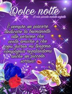 Domenica finita buona notte italia pinterest good for Il mio piccolo mondo segreto buongiorno