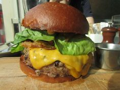 The burger at the Grange in Harlem. The only way to end a weekend filled with multiple burgers.