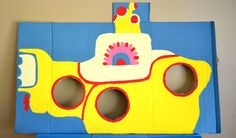 A Yellow Submarine Themed First Birthday Party