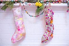 DIY Stockings // The Everygirl