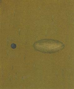 "Katarzyna Feiglewicz, ""Fleece II"", distemper on paper, young artist, polish art"