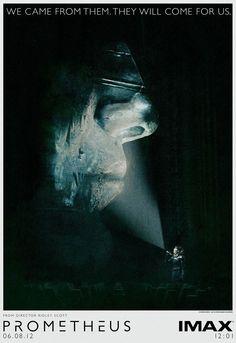 Poster IMAX pour PROMETHEUS