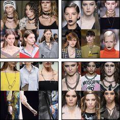 Cheerry23: Fall Winter 2016-2017 trend: punk jewelry