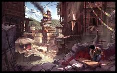 Uncharted 2 from http://www.shaddyconceptart.com/
