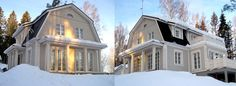 Our house. Architecture, Beautiful Homes, Sweet Home, Home And Garden, Exterior, Hem, Dream Houses, Living Room, House Styles