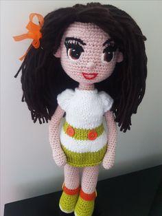 Crochet Dolls, Hand Crochet, Crochet Hats, Amigurumi Doll, Fabric Dolls, Art Dolls, Wool, Knitting, Sewing