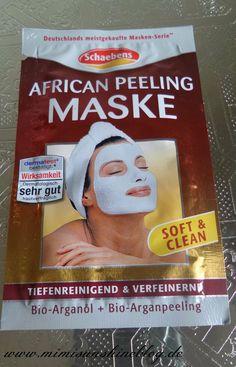 Mimi Sunshine Blog: Getestet: Schaebens African Peeling Maske