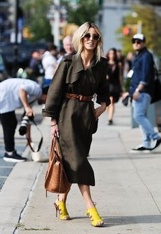 New York Fashion Week 2014 Street Style Hunter New York Fashion Week Street Style, Street Style Summer, Street Style Looks, Looks Style, My Style, Street Style 2018, Fashion Mode, Modest Fashion, Womens Fashion