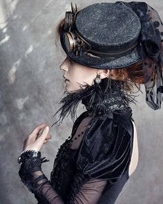 25 Epochal And Inspiring Steampunk Dresses For Women - Steampunko
