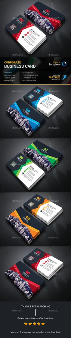 Business Card — Photoshop PSD #flyer #both side design • Available here → https://graphicriver.net/item/business-card/14917200?ref=pxcr