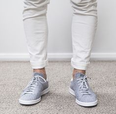 Adidas Originals Stan Smith Primeknit Light Solid Grey