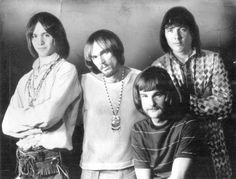 Drummer  Ron Bushy for the group Iron Butterfly was born 12-23-1941. Iron Butterfly in 1969 L-R Erik Braunn,  Ron Bushy, Lee Dorman and Doug Ingle in front.