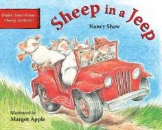 Sheep in a Jeep[ SHEEP IN A JEEP ] by Shaw, Nancy E. (Author) Aug-25-97[ Board Books]: Nancy E. Shaw: Amazon.com: Books