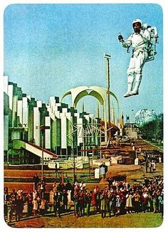 Bell Aviation rocket pack at the 1964 World's Fair in New York