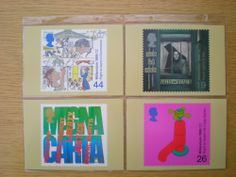 ROYAL MAIL STAMP POSTCARDS  SET OF 4 CITIZENS'  TALE  1999