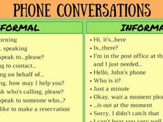 Important Words and Expressions for English Telephone Conversations
