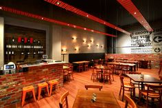 The Groove Train Southland Flagship Restaurant by Blackbox Retail Projects, Melbourne   Australia restaurant bar
