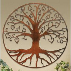 Wall Plaques: Tree Of Life Wall Art Plaque (maybe to hang at the bottom of the basement stairs)