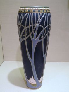 Frederick Hurten Rhead nouveau pottery arts and crafts style ceramics clay